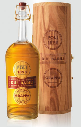 Grappa  poli due barili cl.0.70