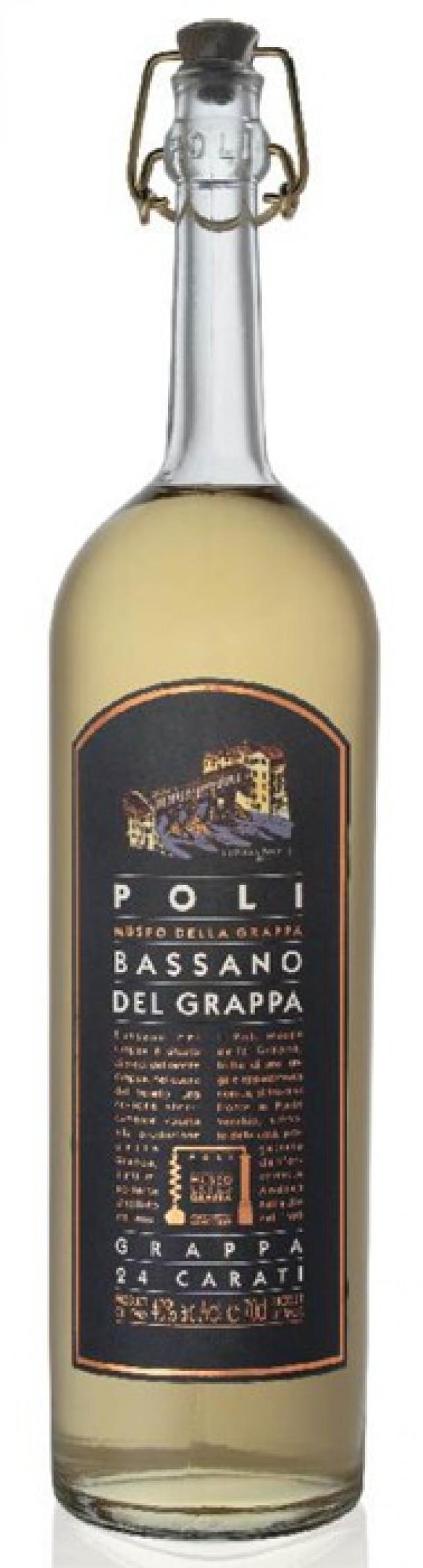 Grappa di Bassano 24 carati : vendita online Liquori e distillati ...